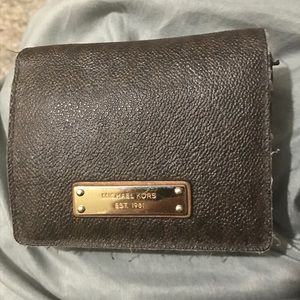 Michael Kors brown unisex wallet